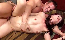 Check out this slut on top of a huge dick getting loads of nasty sweet pleasure